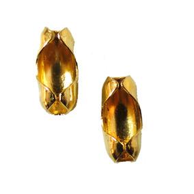 Cadena Bola Conector Dorado Antiguo 3,2mmc/200p Bb Gold