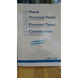 Códigos: Penal + Procesal Penal Nación Y Pcia. Bs. As. + Cn