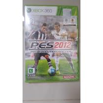 Jogo Xbox360 - Pro Evolution Soccer 2012 - Original Lacrado
