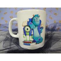 Tazas Monster Inc, Polymero,souvenir, Cumpleaños, Infantiles