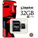 Memoria Micro Sd 32gb Clase 10 Kingston + Adapt. - Pinamar
