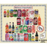 Pak 4 Refrescos Importados Exóticos Coca Vainilla Mtn Dew +