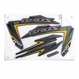 Adesivo Jogo Honda Nxr 150 Bros 12 Es Preto