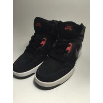 Nike Sb Cano Alto Black/red