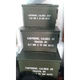Caja De Municiones Metal