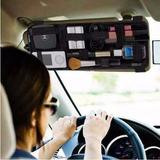 Suporte Celular Quebra Sol Organizador Carro Tablet