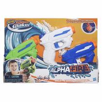 Nerf - Alphafire Pack C/ 3 - Lançador De Agua - Hasbro