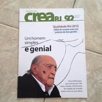Revista Crea Rj 92 Dez2012 Homem Simples Oscar Niemeyer