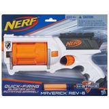 Lançador Nerf N Strike Maverick Tambor Giratório Hasbro