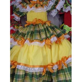 Vestidos Festa Junina Lindos Artesanato