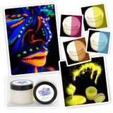 ¡ Pintura Cuerpo Glow In The Dark Blacklight Body Painting !