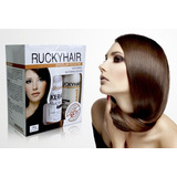 Keratina Rucky Hair Alisadora Brasilera Sin Formol Kit 5 Uni