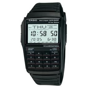 Relógio Casio Data Bank Calculadora Dbc-32-1adf Multilíngüe