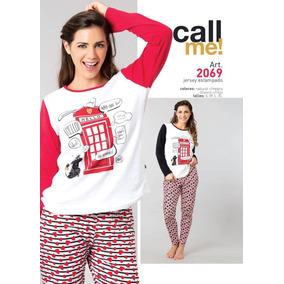 Pijamas Invierno Melina Wol. Precio Mayorista Super Oferta