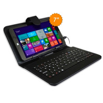 Tablet 2 En 1 - Windows 10 16gb Hd Intel Funda Teclado Gtia