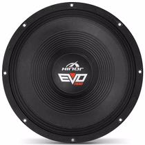 Woofer Hinor Evo 15 Polegadas 1100w Rms 4 Ohms Bobina Simple