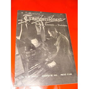 Revista Transmisiones, Antigua De Los 50s, De Electronica Ra