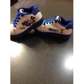 Zapatillas Addnice Disney Mickey Con Luz