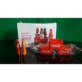 Coca Cola Mini Garrafinhas Coleção Completa + 6 Engradados