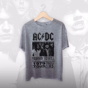 Camiseta Bigzóio - Rock - Ac/dc Highway To Hell, Angus Young
