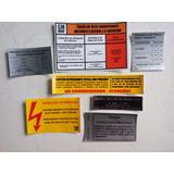 Etiquetas Gm Chevrolet Bonanza Veraneio Pickup D20 C10 C14