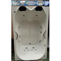 Banheiras Dupla Firenze Hidro+aquecedor+ Moto Bomba 1.5 Cv