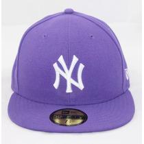 Gorra Original Ny Yankees 7 3/8 59fifty Morado New Era
