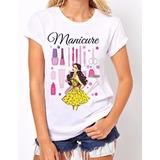 Manicure - Camisa - Personalizada - Fardamento