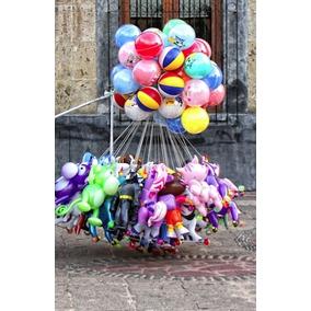 50 Balones O Pelotas Para Globo Latex No.12 Para Piñatas Y +