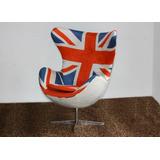 Poltrona Egg Bandeira Inglaterra