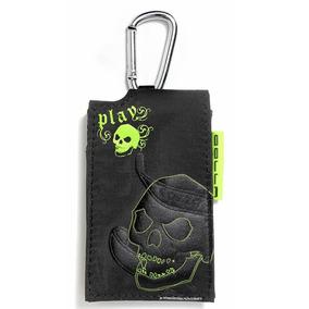 Bolsa Para Mp3 Skull G379 Preta Golla