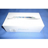 Iphone 5 Blanco 16gb Desbloqueado Fabrica Caja Acc