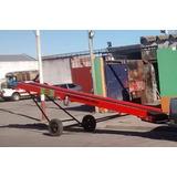 Cinta Transportadora Con Banda De Goma , Bolsas Y A Granel
