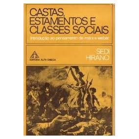 Livro Castas Estamentos E Classes Sociais Sedi Hirano