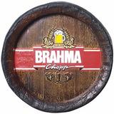 Tampa De Barril Decorativa Grande Brahma Chopp