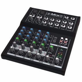 Mixer Consola Mackie Mix 8 Canales Entrada Xlr Phantom Eq