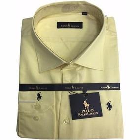Camisa Social Ralph Lauren Pêssego Lisa Masculina Rl102