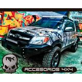 Parachoque Para Tú Rústico Toyota Hilux(financiado 2 Cuotas)