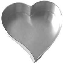 Forma De Bolo Coração Grande 33 X 5 Cm
