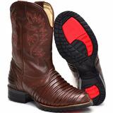 Bota Texana Masculina Casco Tatu Melhor Custo Beneficio