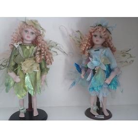 Fada Boneca Porcelana Luxo!
