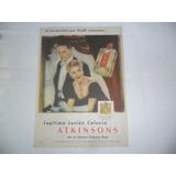 Atkinsons Etiqueta Roja Perfume Fragancia Frasco Envase