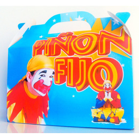 Cajita Bolsita Piñón Fijo Souvenirs Infantiles Pack X30