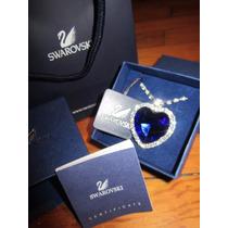 Titanic Collar Dije De Crystales***swarovski Con Certificado