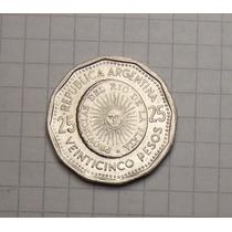 Moneda Argentina 25 Pesos 1968 Antigua Excelente