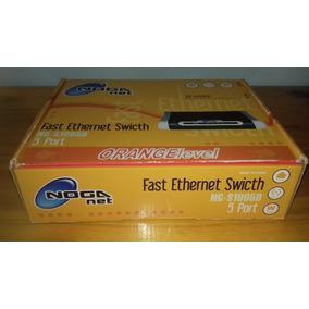 Router Noganet Fast Ethernet Swicth Ng-s1005d 5 Port