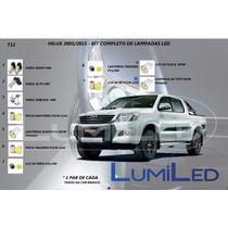Kit Completo Lampadas Led Hilux 2005-2015
