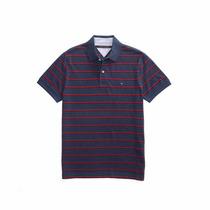 Camisa Polo Tommy Hilfiger Piquet Masculina 100% Original