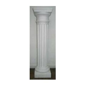 Columna Yeso Decorativa 80 Cm Dórica Dórico Columnas Deco