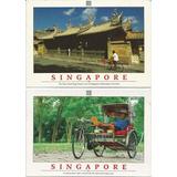 2 Postais Antigos Anos 80 - Singapura .